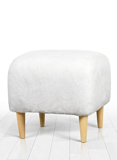 Lorence Home Sheep Puf Beyaz